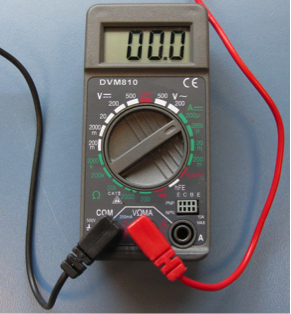 ammeter replacement Multimeter r