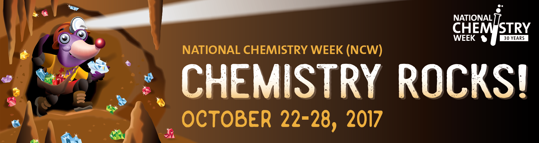 National Chemistry Week 2017 logo banner