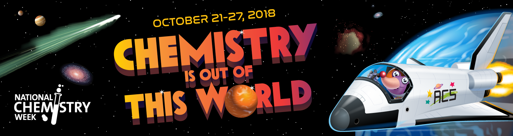 National Chemistry Week 2018 banner