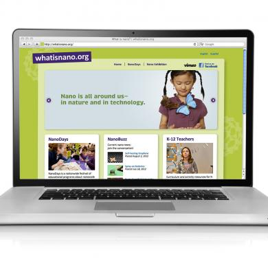 whatisnano website with laptop